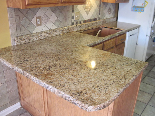 These Euro Bond Countertops Look Identical To Granite But Are Way Cheaper.  This Company Refinishes Your Laminate Countertops With A Euro Bond Product  And ...