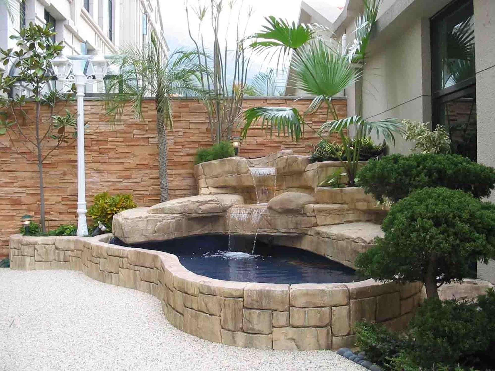 Best Beautiful Above Ground Pond With Simple Design 6 ... on Above Ground Ponds Ideas id=19495