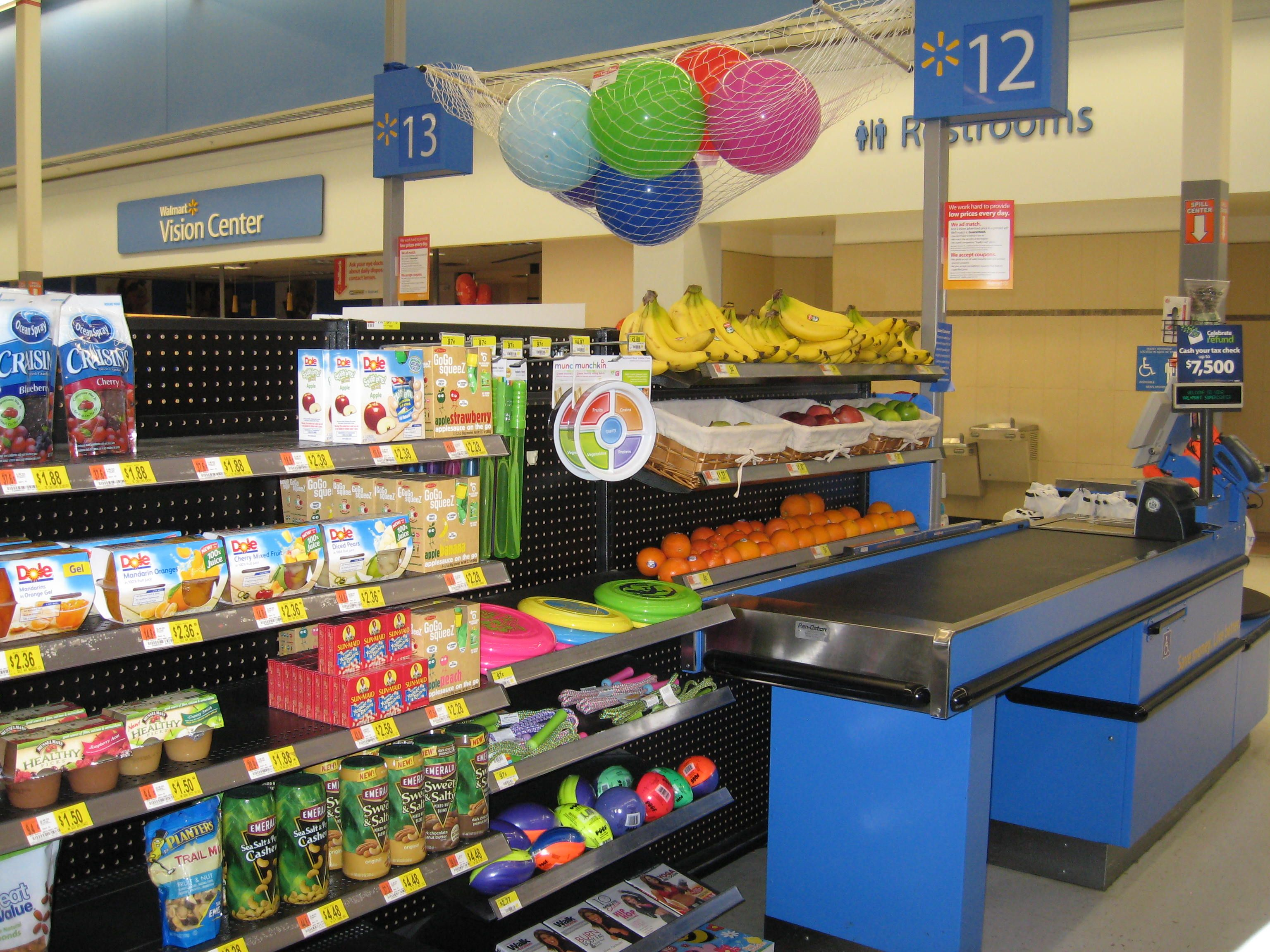 Image result for walmart check out healthy option