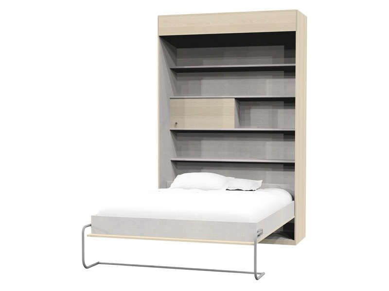 Lit armoire escamotable conforama lit escamotable mistral ch ne gris pictures to pin on - Lit armoire escamotable ...