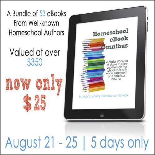 iHomeschool Network eBook Omnibus includes Notebooking Success. Value of over five hundred dollars for only $25