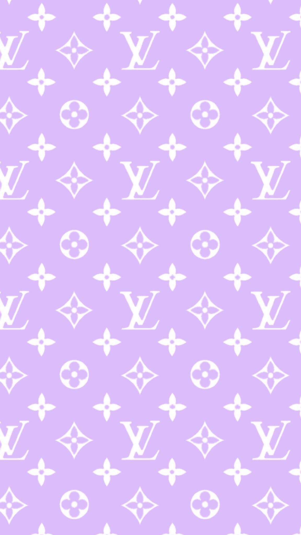 Light Pink Louis Vuitton Wallpaper