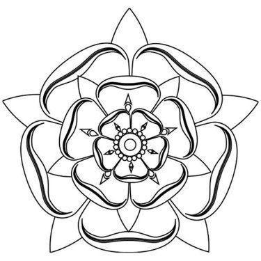 Photo of Fine Line Mandala Tattoo Design