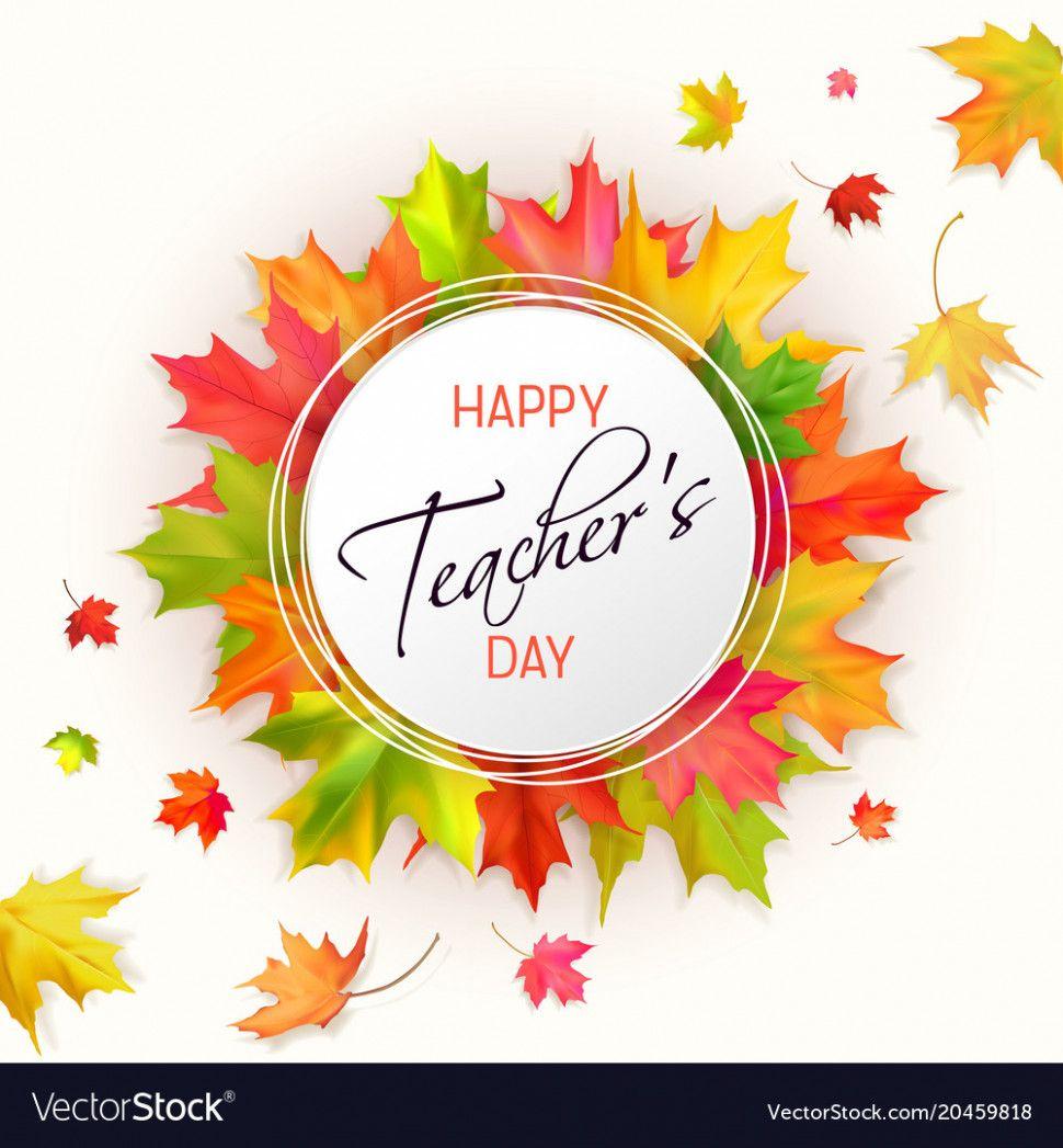 Teachers Day Card Background In 2020 Teachers Day Card Design Teachers Day Card Teacher Cards