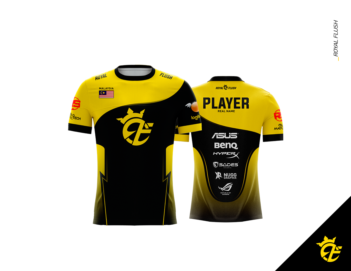 Download Gaming Jersey 2017 On Behance In 2020 Jersey Cricket T Shirt Tech Tee