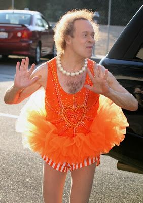 What NOT to wear to the gym. Hilarious and so true. PS- I love Richard Simmons!