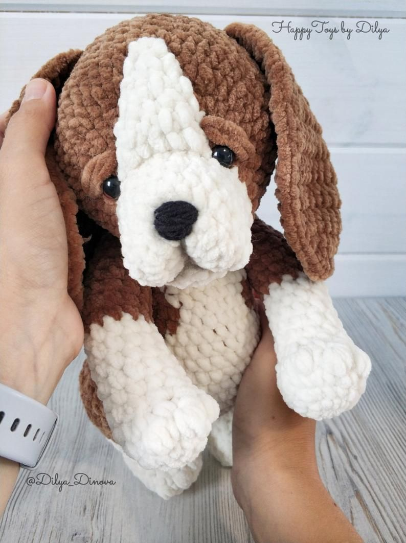 PROJECT #027: AMIGURUMI DOG WITH DIY FUR   1062x794