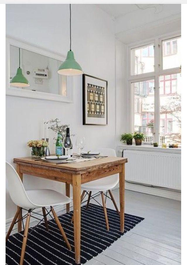 Un petit coin repas chaleureux salle manger salle manger deco et cuisine bistrot - Petit coin cuisine ...