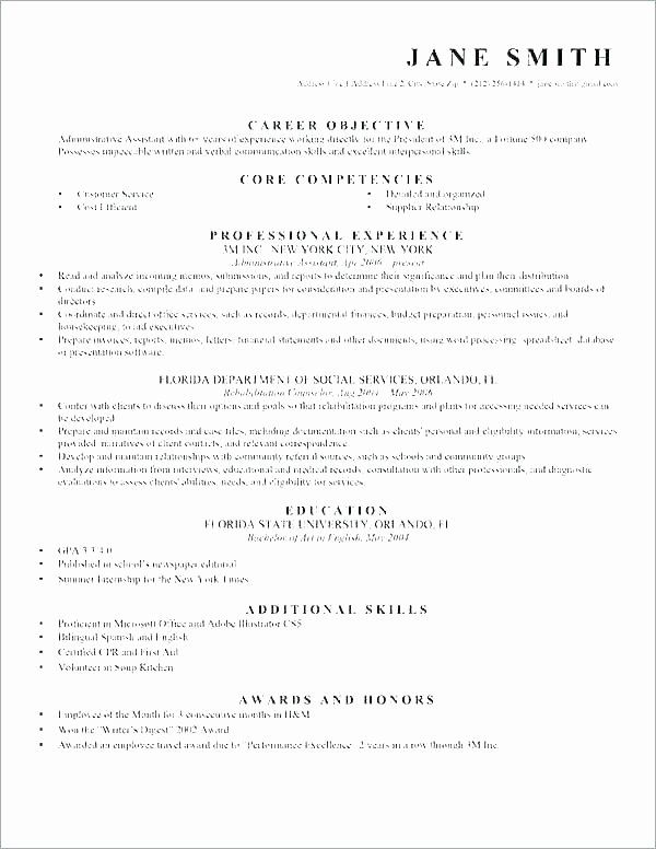 entry level paralegal resume inspirational resume