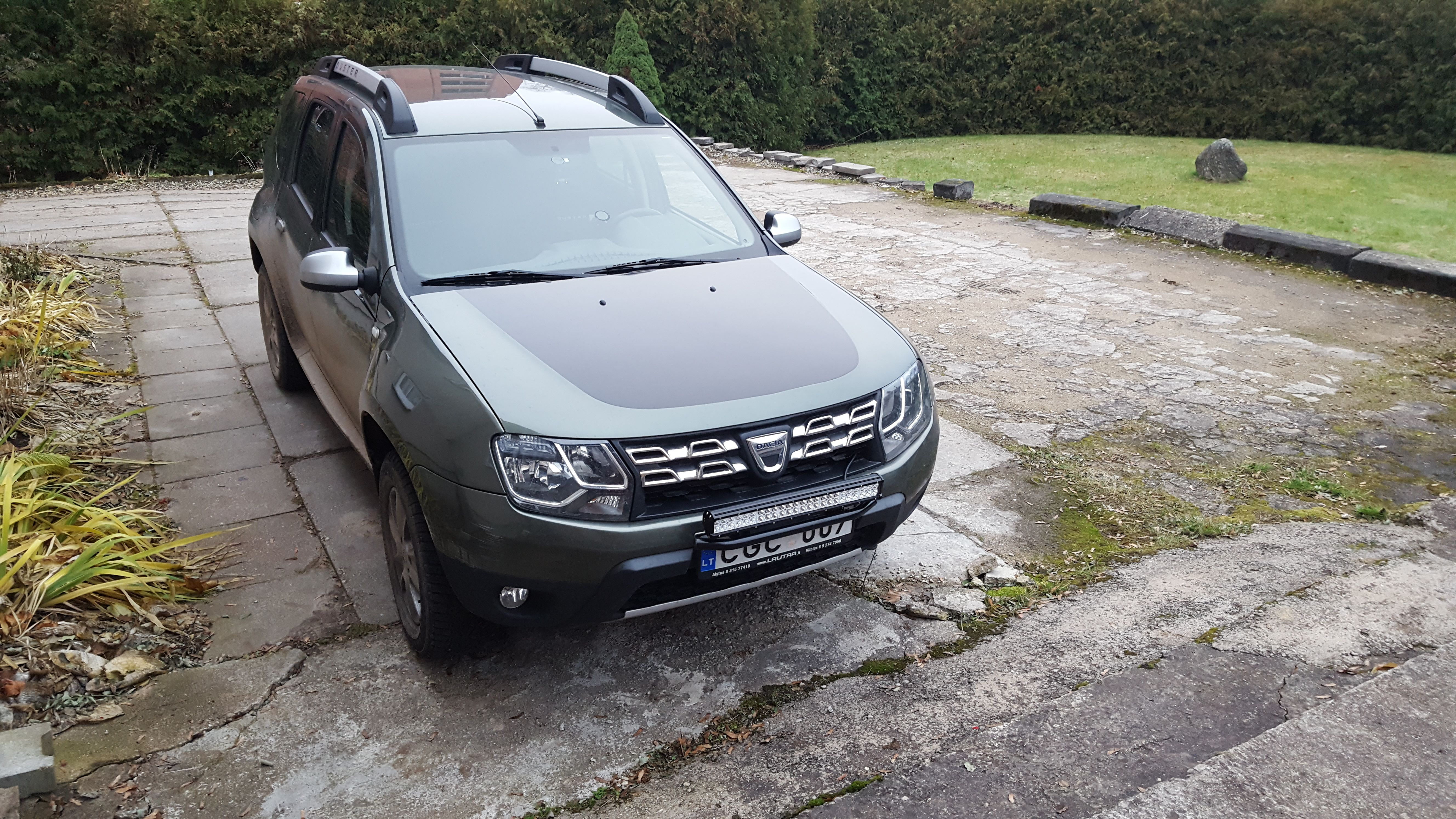 Dacia duster front bull bar and spot bar led light dacia duster dacia duster front bull bar and spot bar led light mozeypictures Gallery
