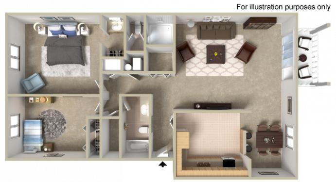 Profile Floor Plan Apartments For Rent Apartment Communities Floor Plans