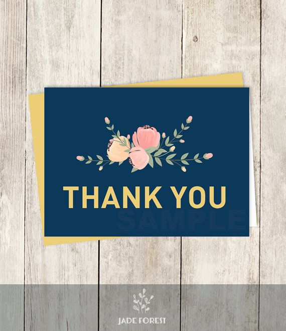 10 off with coupon code pin10 pastel thank you card diy 10 off with coupon code pin10 pastel thank you card diy floral pastel fandeluxe Choice Image