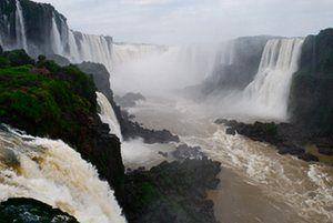 The Iguaçu falls