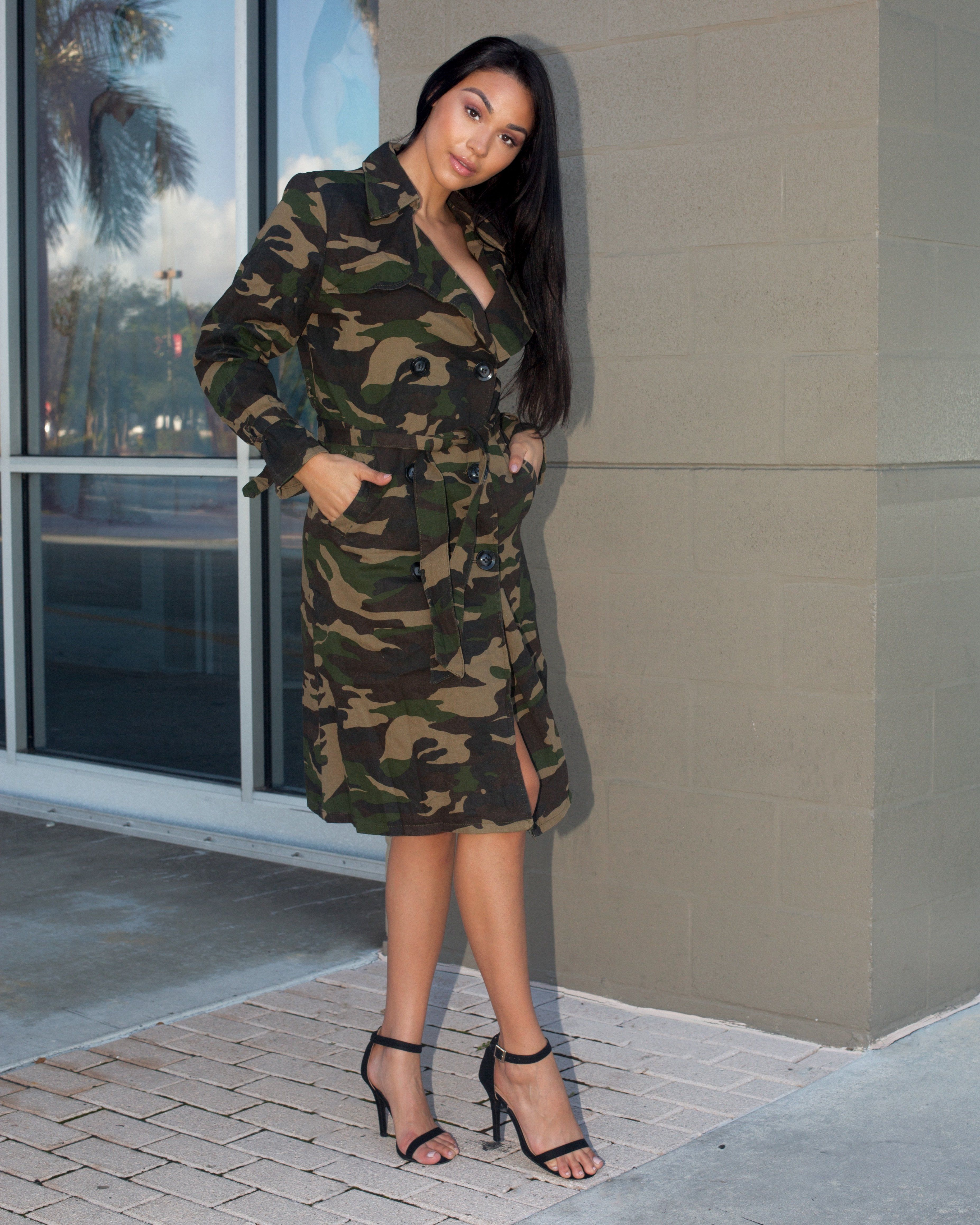 24ed2d8f2316a Mel - Camo Dress Jacket | Semai House Of Fashion - Dresses, club ...