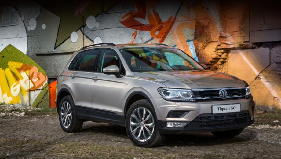 Volkswagen Tiguan GO! получил расширенный список