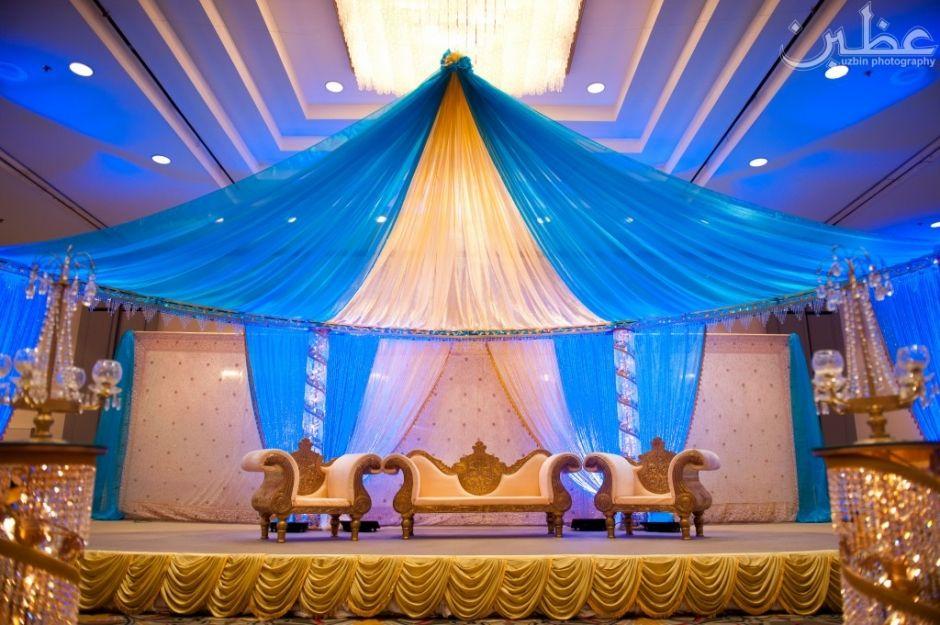 Blue + Gold Wedding Decor. Maybe A Darker Royal Blue? As A Colour Scheme