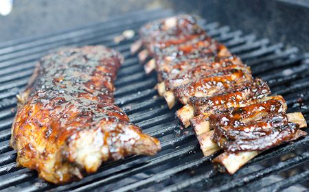 Grilled Korean Baby Back Ribs Recipe