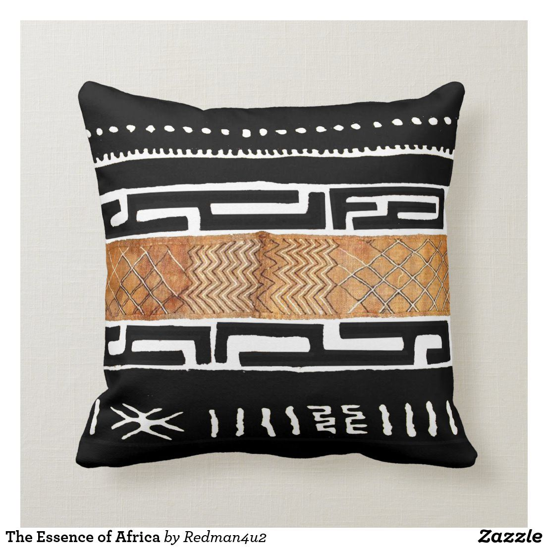 The Essence Of Africa Throw Pillow Zazzle Com African Inspired Decor African Decor Living Room Pillows