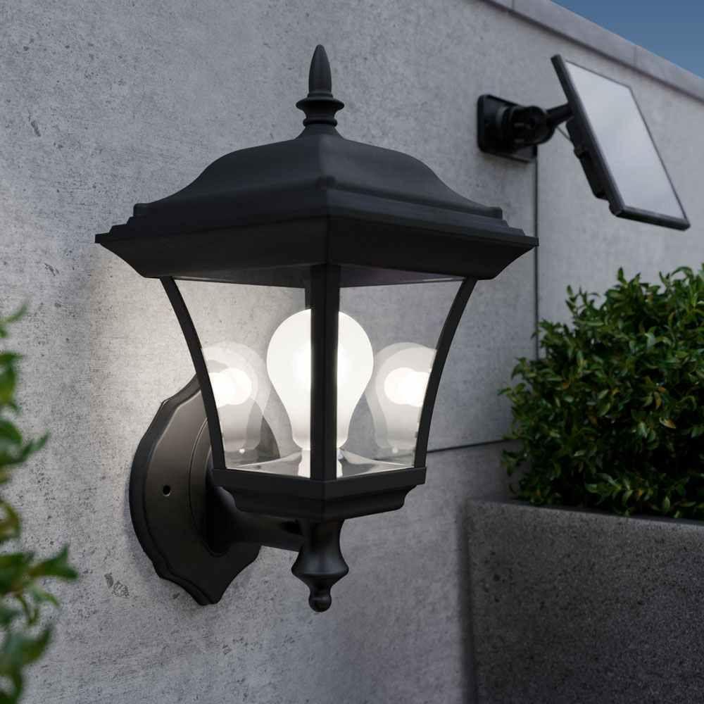 Esher Solar Wall Lantern Solar Lights & Solar Lighting
