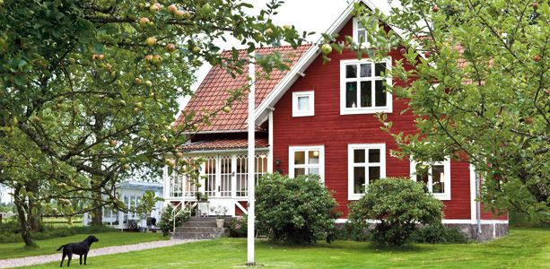 croft on the countryside in sweden | country houses, swedish house