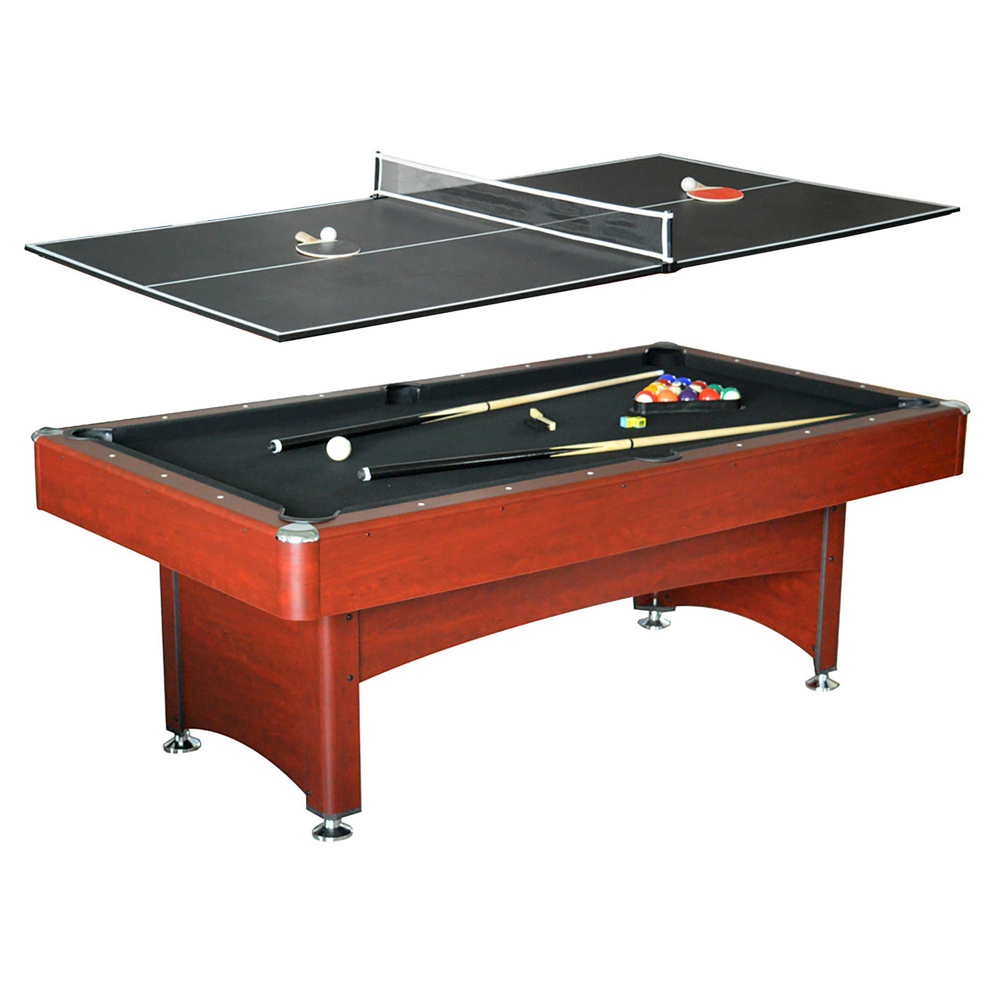 Second Hand Pool Table 8 Foot Moderna Model With Real Slate