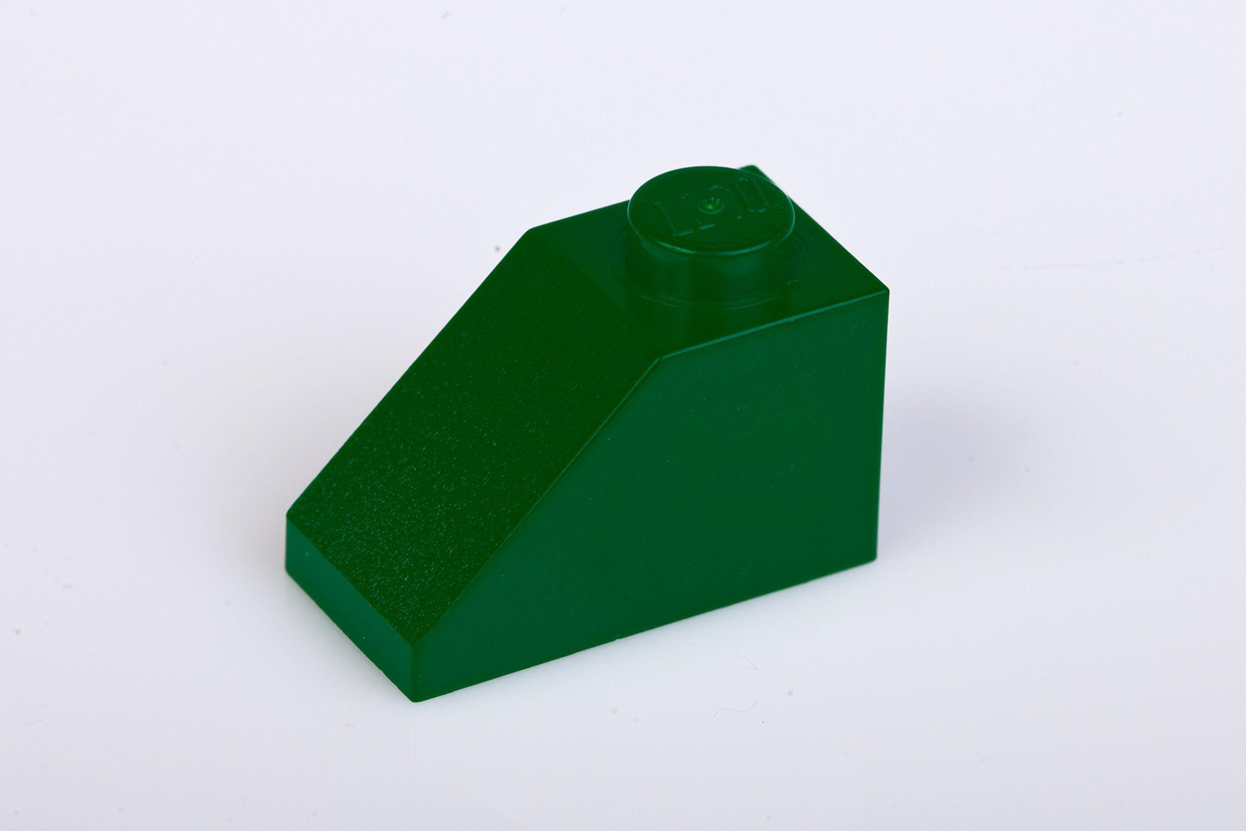 200x Lego Dark Green Green 1x2 45 Deg Roof Tiles Super Pack Lego Tiles Roof Tiles
