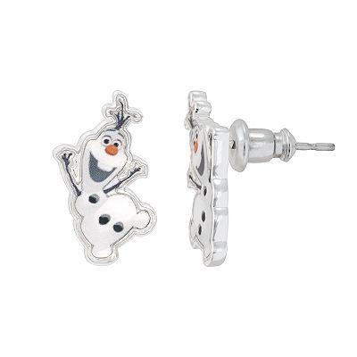 Disney Frozen Silver-Plated Olaf Stud Earrings, Grey | Schmuck und ...