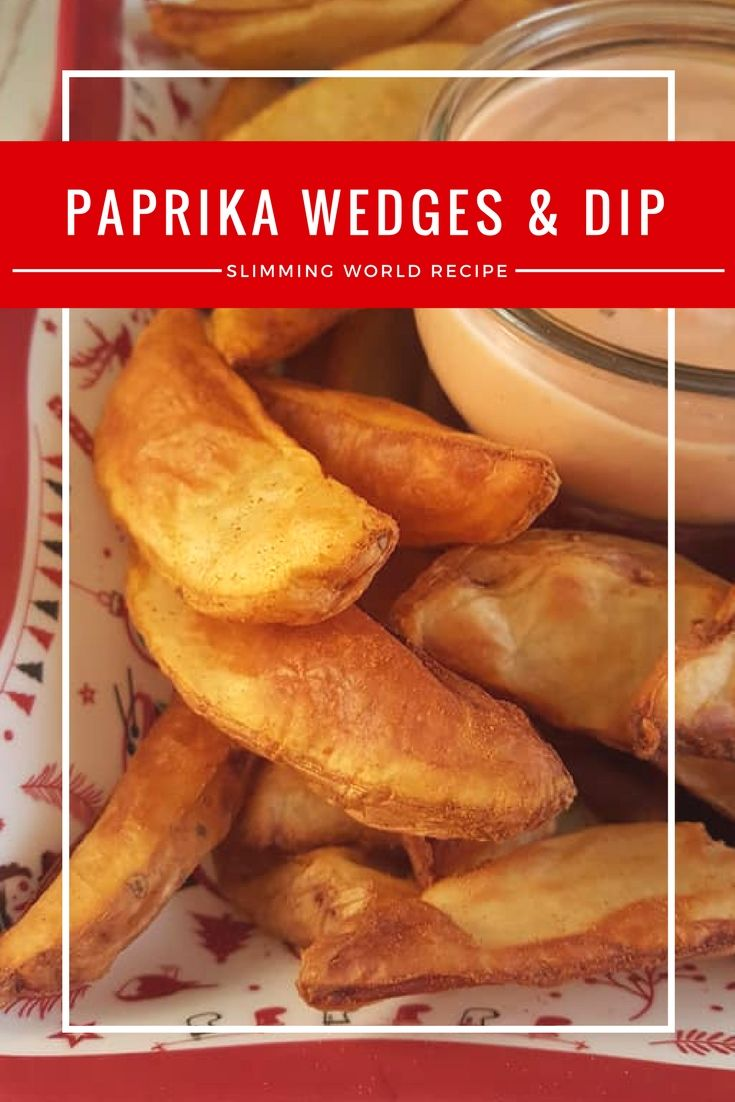 Paprika Wedges with Tomato & Basil Dip – Slimming World Buffet