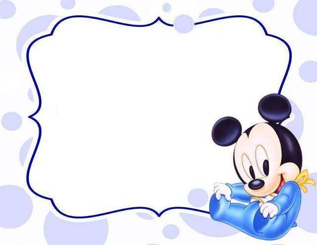 La Super Mamy: Semana de cumples: Mickey Mouse Bebé | Baby ClipArt ...