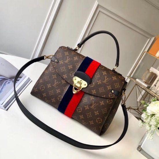 c71ef869138e Louis Vuitton Monogram Georges MM M43778  Guccihandbags