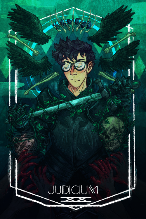 Judicium, by byz-antium on tumblr | The Raven Cycle