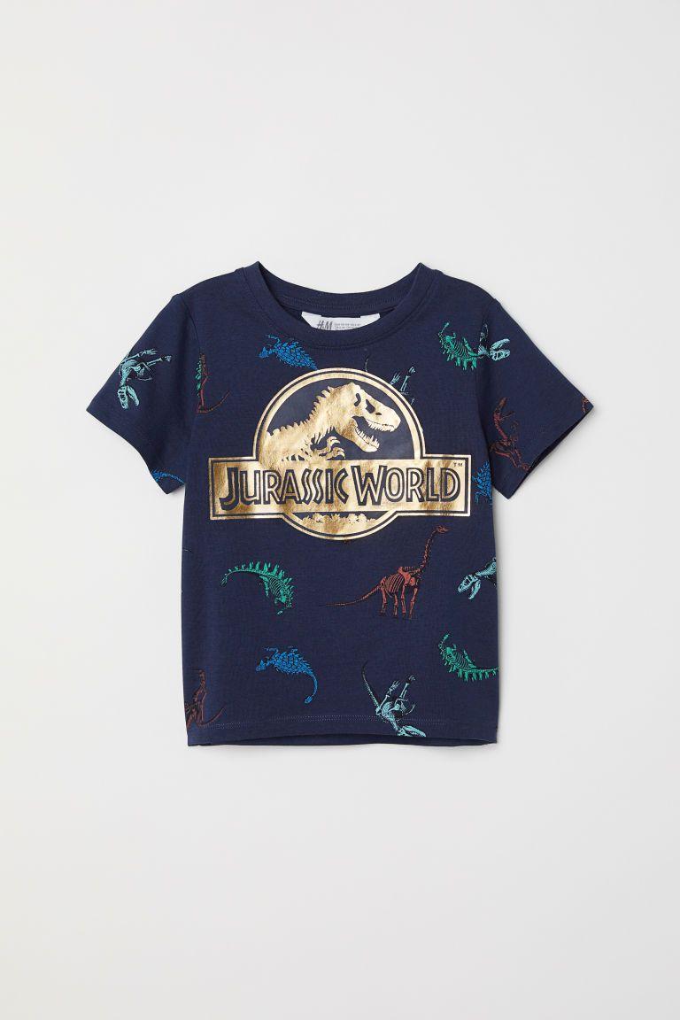 973a5700b Camiseta con estampado - Azul oscuro Jurassic World - NIÑOS