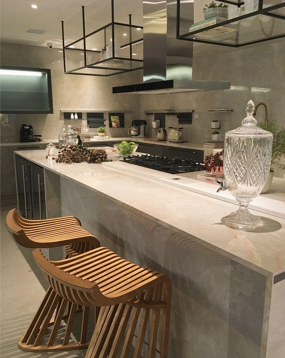 Casa Cor Sp 2017 A Super Cozinha Urbana De Patricia Pasquini  ~ Balcão Grande Para Cozinha Acozinha Com Sala De Jantar