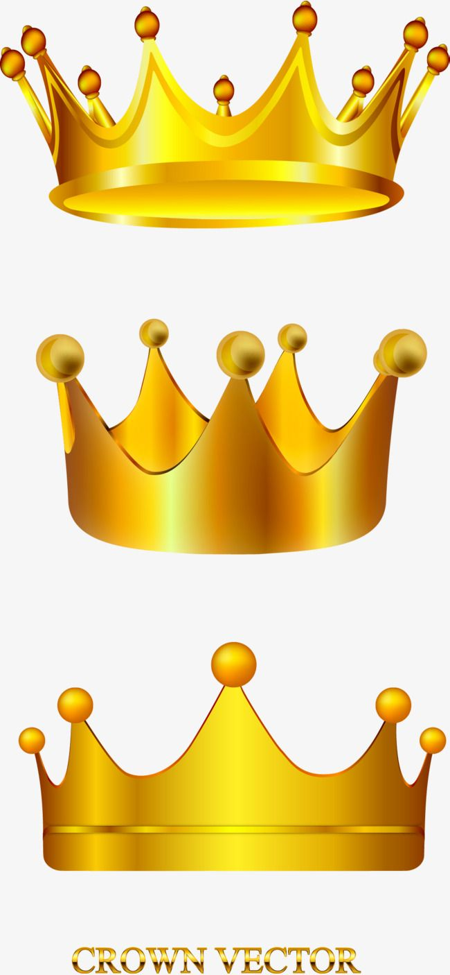مرسومة باليد ناقلات تاج ذهبي تاج المتجه مرسومة باليد Png وملف Psd للتحميل مجانا Hand Painted Vector Hand Crown Png