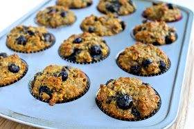 The Foodie Physician: Dining with the Doc: Rise and Shine Blueberry Oatmeal Muffins