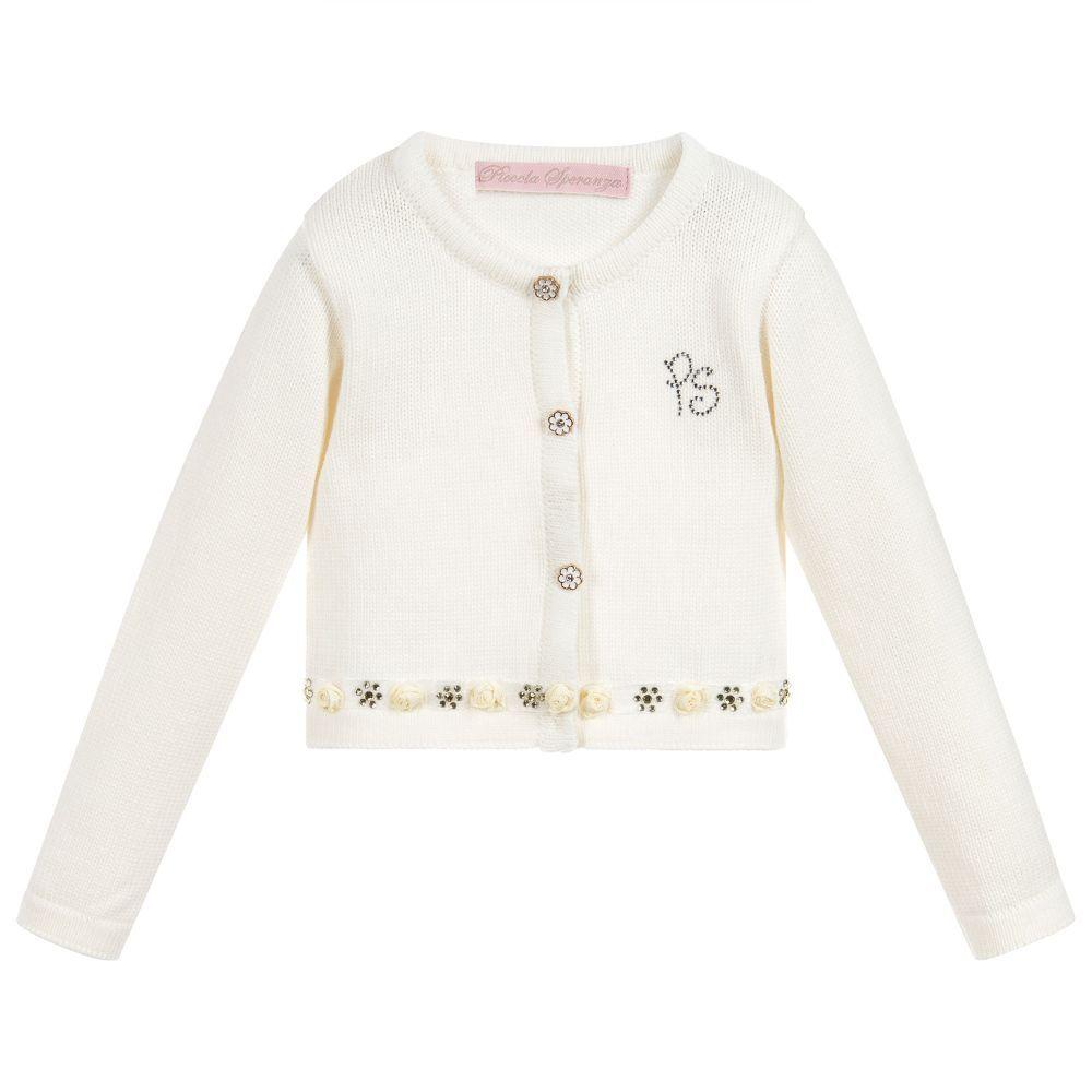 b3724e998 Girls Cotton Knit Cardigan