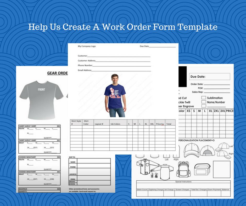 03ea5cf3279e0973e31f1c3a5436a171 T Shirt Work Order Form on high school, template microsoft word, printable pdf,