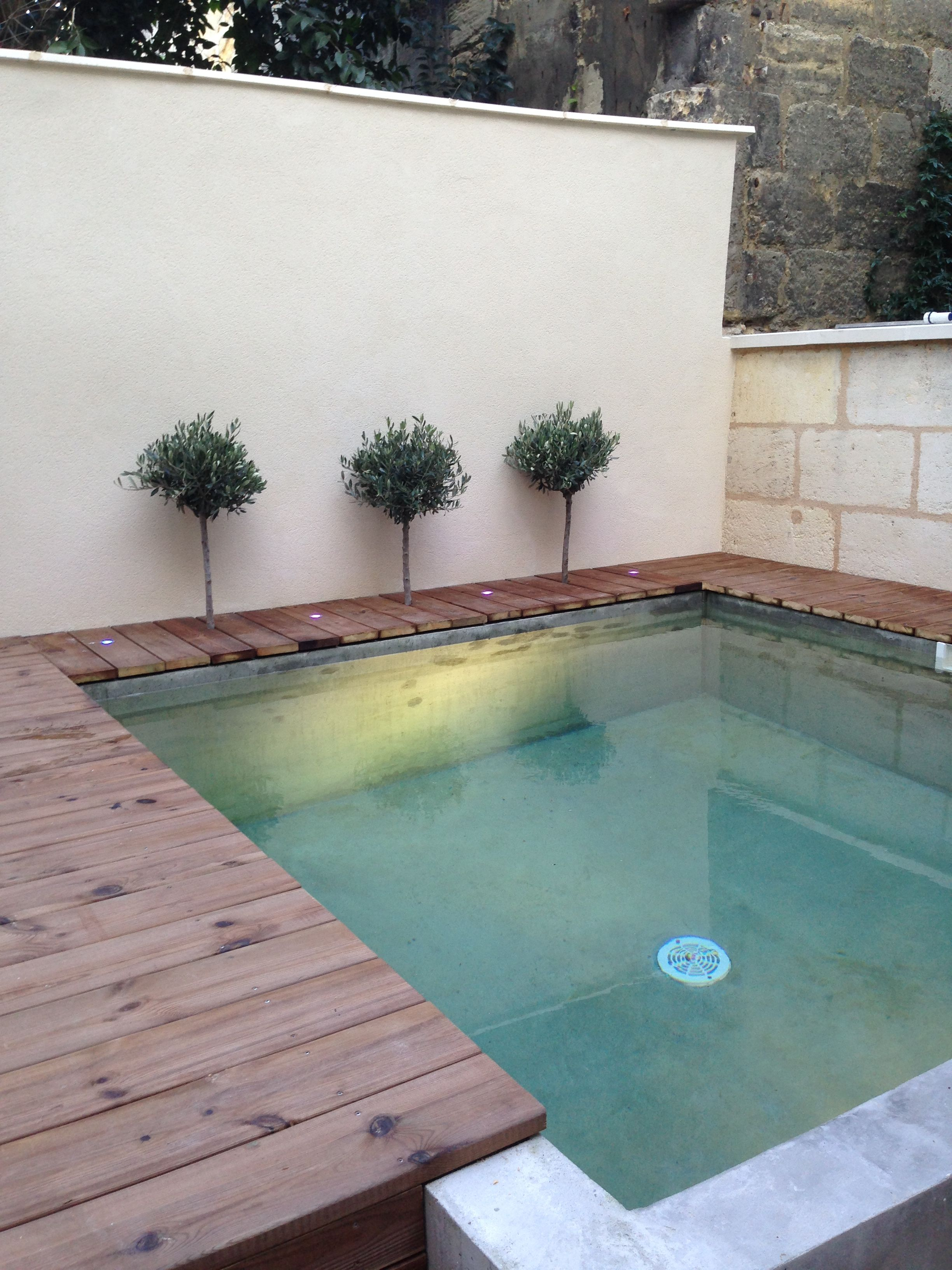 Small pool 3x3 outdoors in 2019 small backyard pools for Design pool klein
