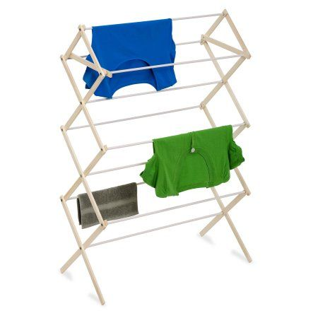 Chrome Honey-Can-Do Commercial Accordion Drying Rack