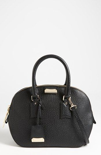 Burberry Orchard Small Leather Satchel Available At Nordstrom