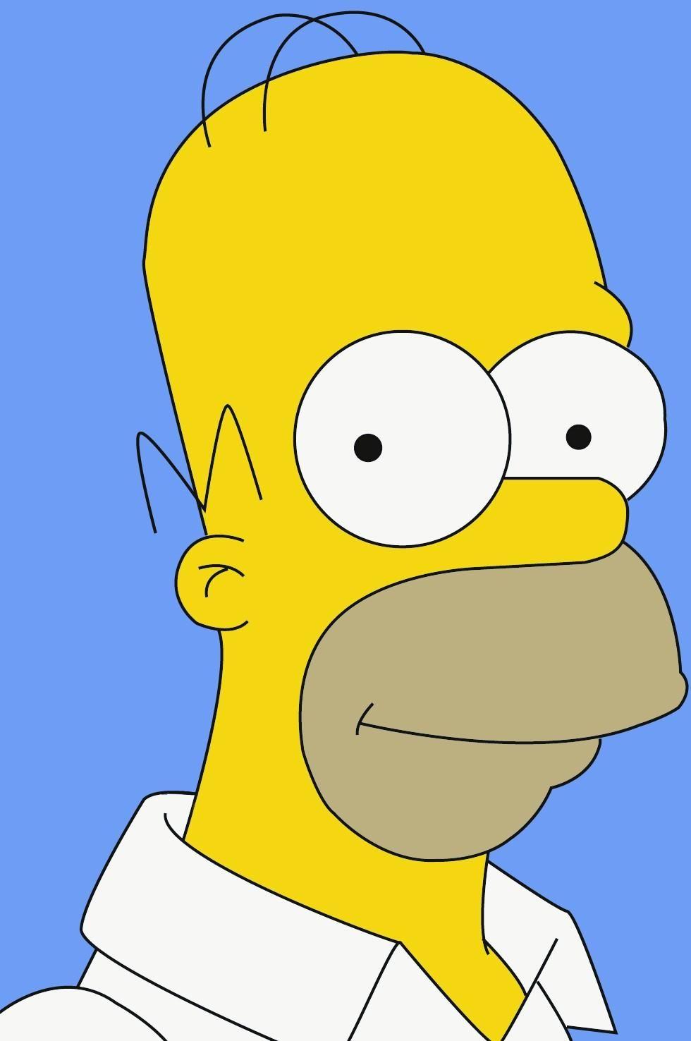 Homer Simpson Wallpaper Hd Download Homer Simpson Drawing Simpsons Drawings Homer Simpson