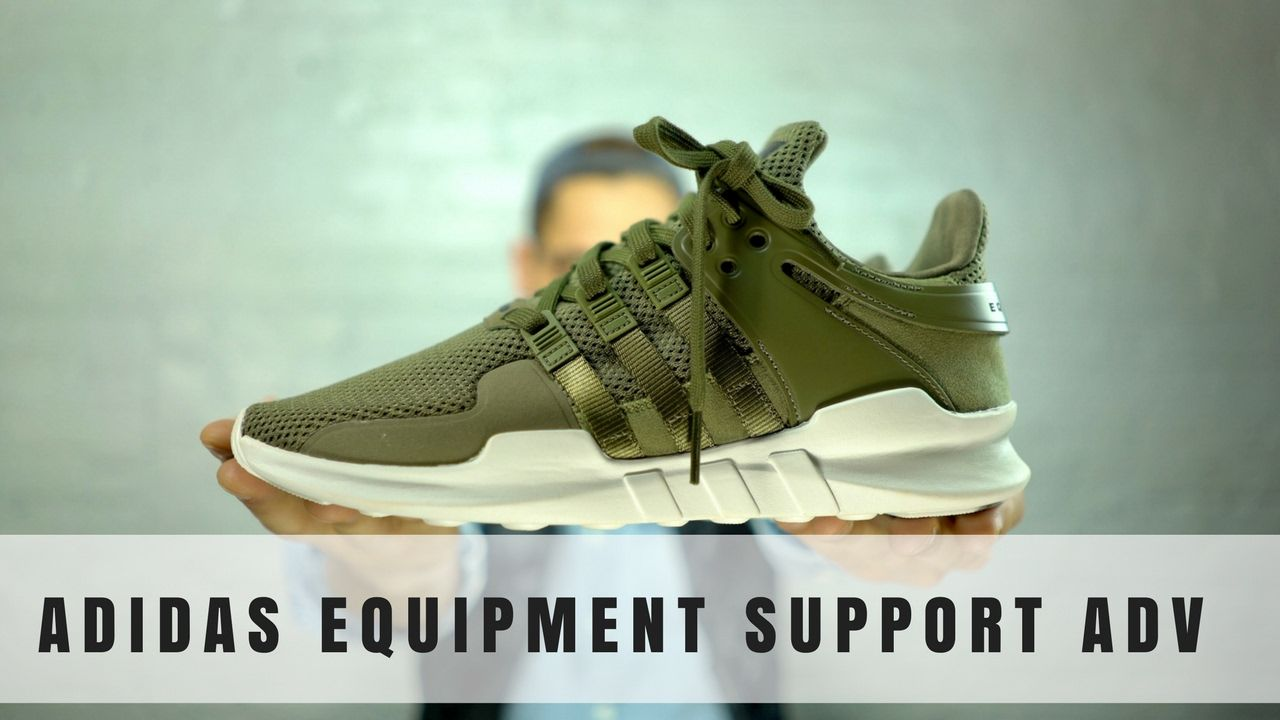 808753f3b4b0a7 Adidas EQT Support ADV (Olive Cargo) Unboxing   First Impressions! - YouTube