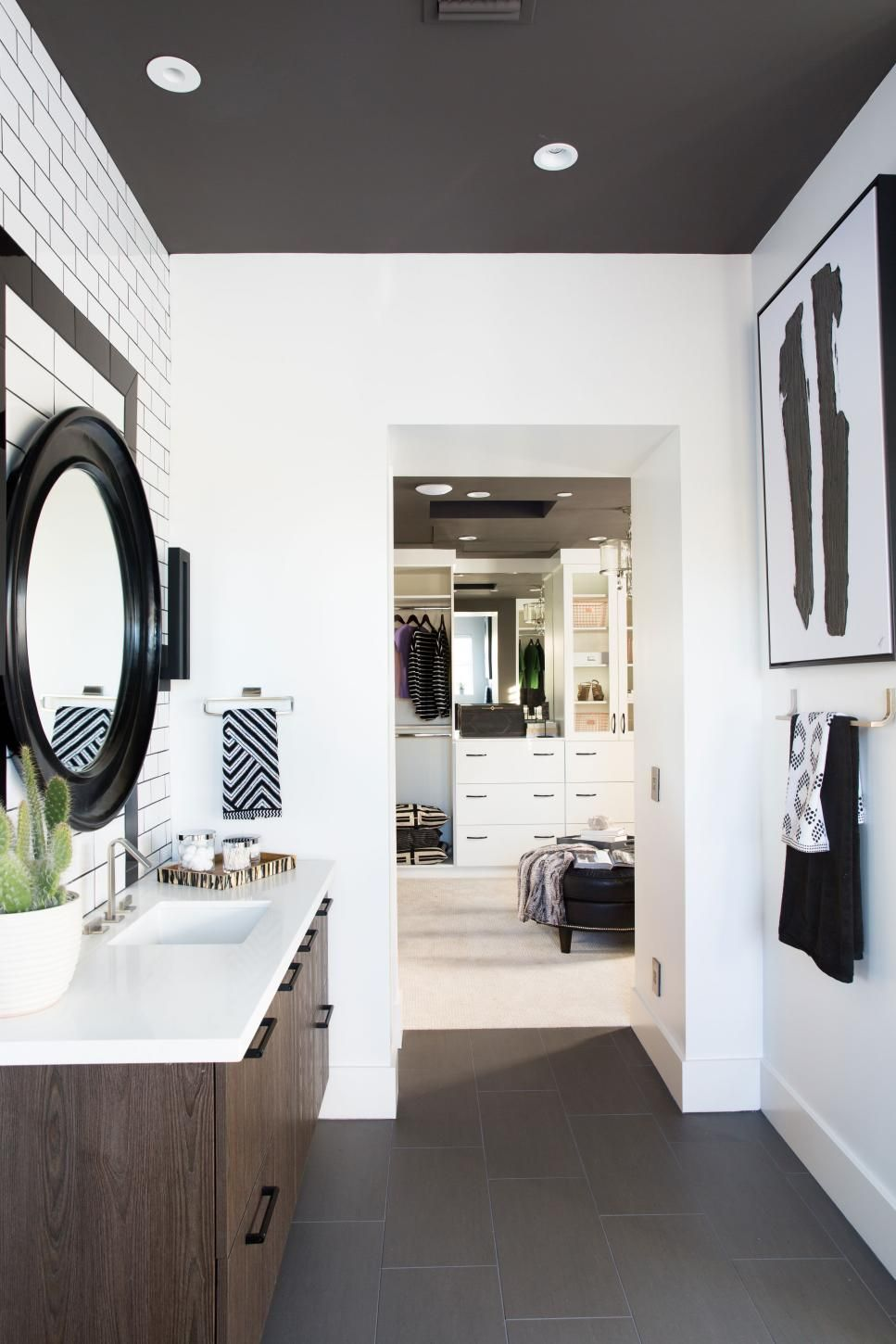 Pictures of the HGTV Smart Home 2017 Master Bathroom