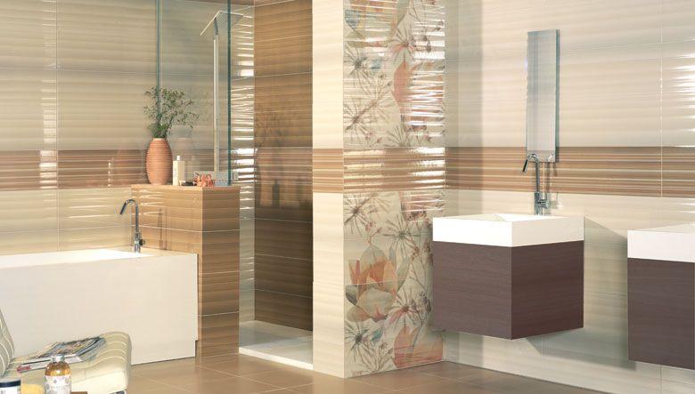 Diseños para cuartos de baño donde las piezas cerámicas que ...
