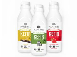Maple Hill Creamery 100 Grass Fed Organic Whole Milk Kefir Milk Kefir Kefir Maple Hill