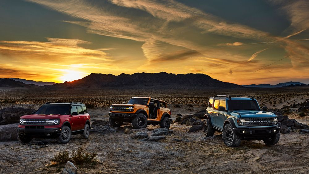 The 2021 Ford Bronco First Edition Sold Out In Less Than 24 Hours