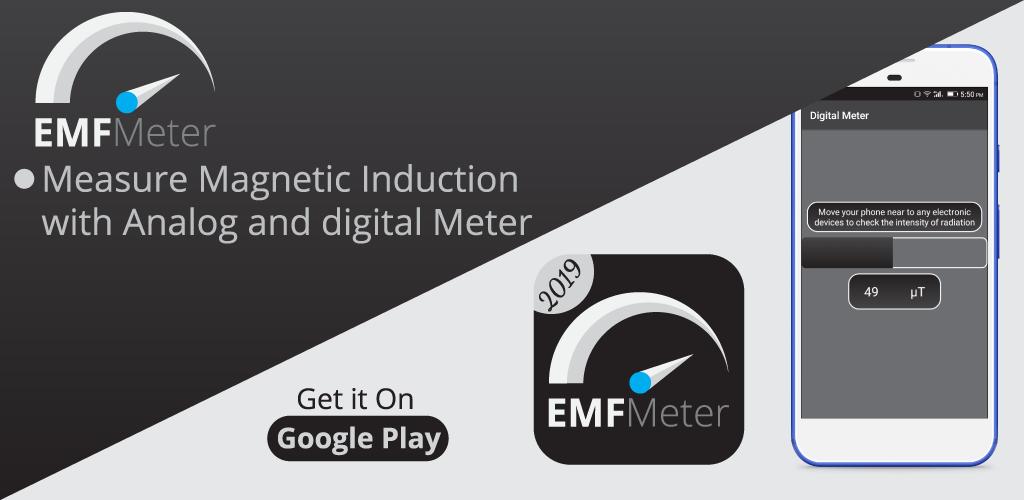 Electromagnetic Field Detector, Guass Meter is the best app