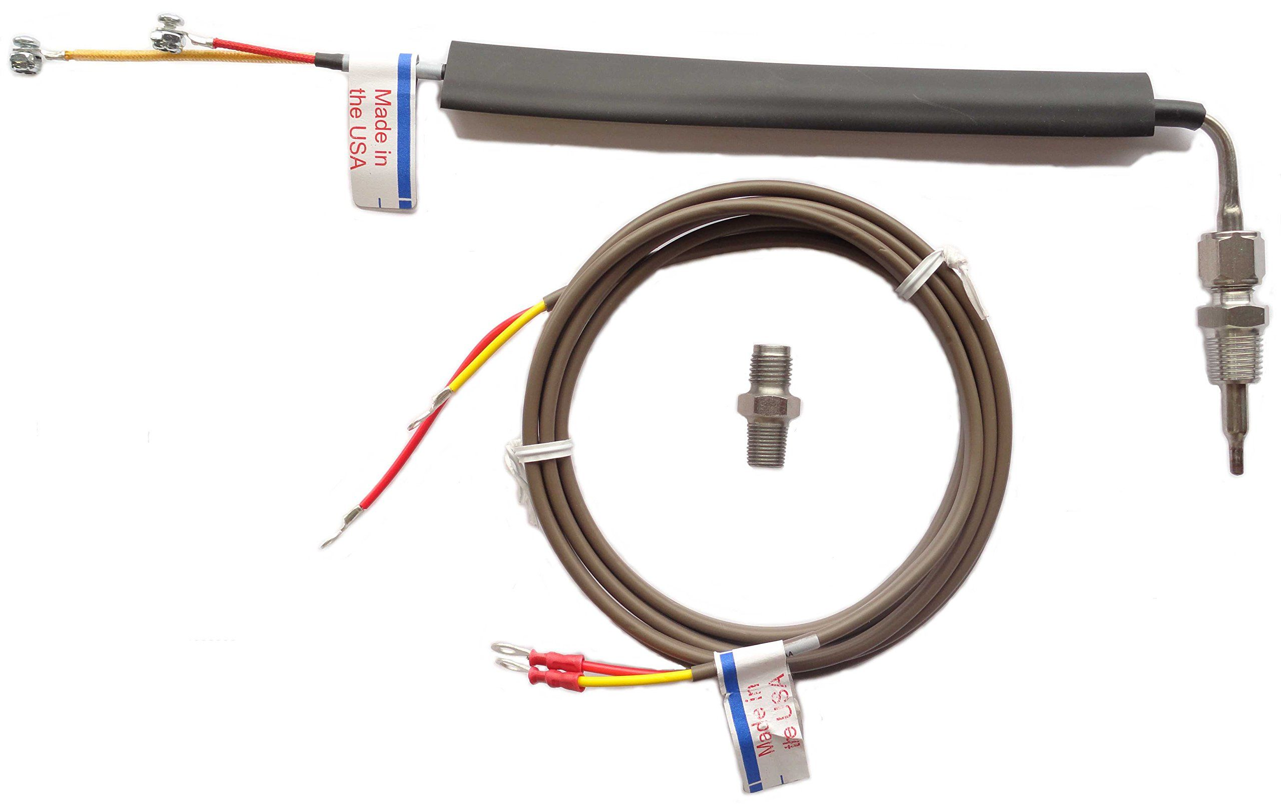 Truckmeter 015tm5003 Type K Universal Thermocouple Pyrometer Probe With Leadwire Learn More By Visiting The Image Link Gauges Size Chart Universal Probe