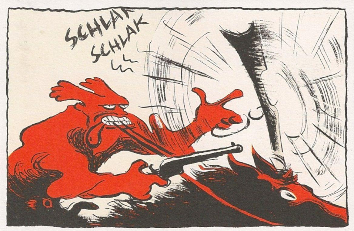 GUS2 beau bandit christophe Blain Graphic novel art