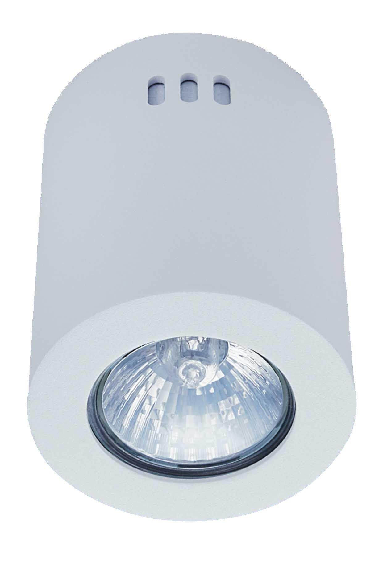 LED GU10 Surface Mounted Downlight Holder Round #FutureLightLEDLightsSouthAfrica #led #ledlights